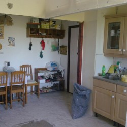 Válaszfal vágás szoba és konyha között